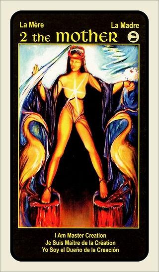 Tarot Card 2 The Mother