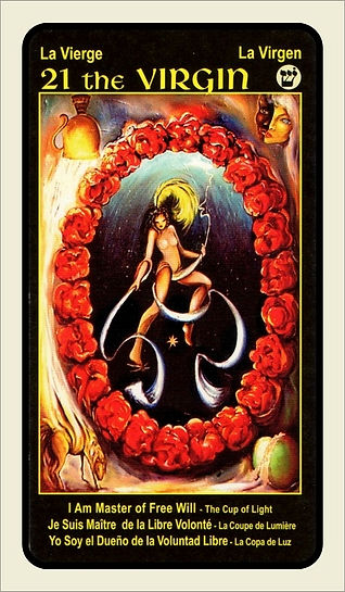 Tarot Card 21 The Virgin