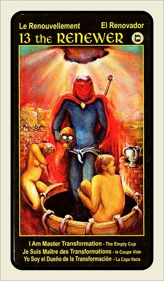 Tarot Card 13 The renewer