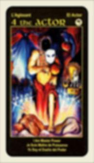 Tarot Card 4 The Actor