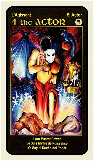 Tarot Card 4 The Actor