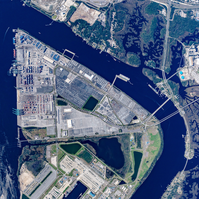 Blount Island and Jacksonville Port Authority