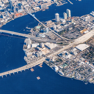 City of Jacksonville, Florida - urban core