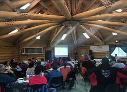 Lovell Cove Camp presentation in Takla_e