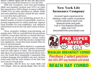 Vacation Rental Legislation