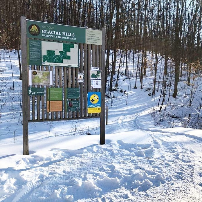Glacial Hills Winter Trail Day is scheduled from February 24 from 2-5pm!
