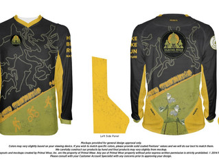 Glacial Hills Mountain Bike Jersey: Show Your Glacial Love!