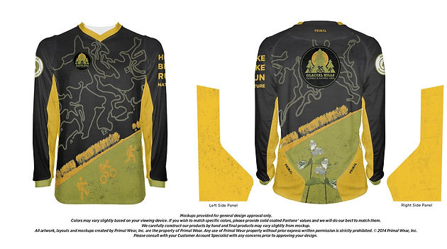 006caf8c9 Glacial Hills Mountain Bike Jersey  Show Your Glacial Love ...