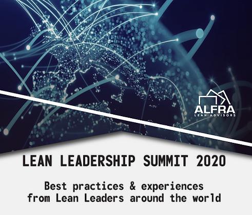 Lean Leaders Summit 2020 Early Bird!  80% Off