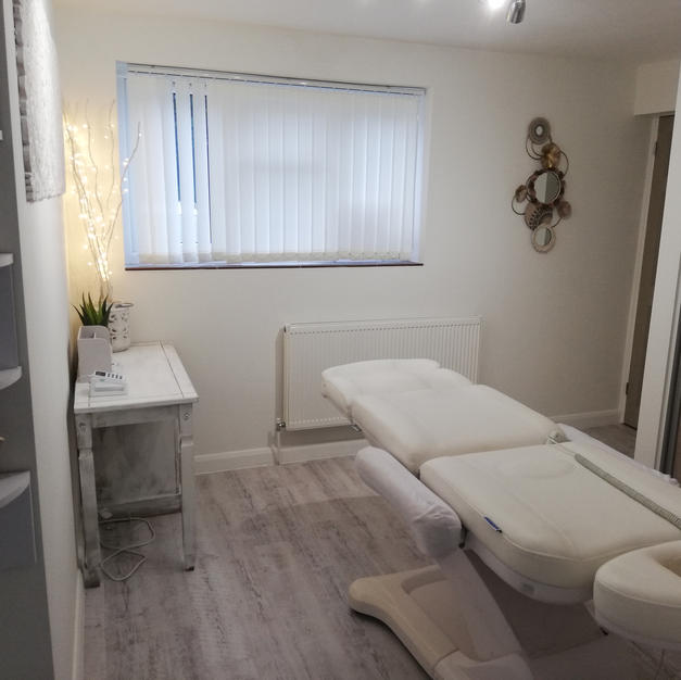 The tranquil treatment room