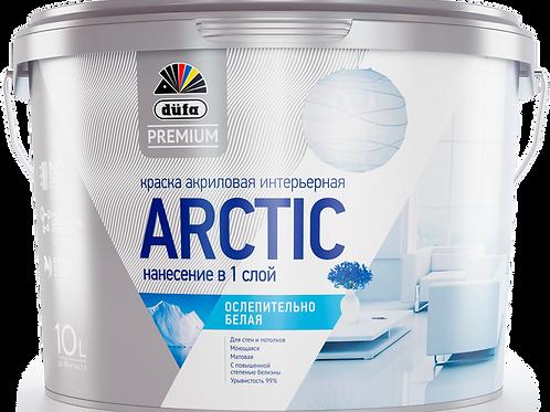 Краска водно-дисперсионная для внутренних работ Dufa Premium Arctic