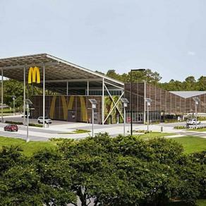 Первый в мире ресторан McDonald's, который полностью обеспечивает себя электричеством за счет ВИЭ