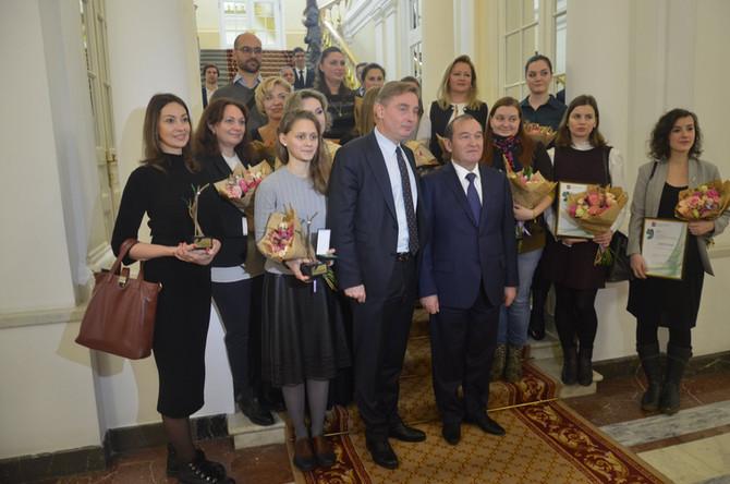 Авторы лучших экологических проектов получили премии Правительства Москвы - Клуб и Лаборатория Зелен