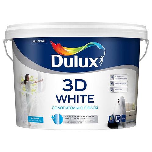 Краска Dulux 3D White полуматовая (базы BW, BC)