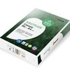 Бумага А4 Nautilus Classic, 80 г/м, 500 листов в пачке.