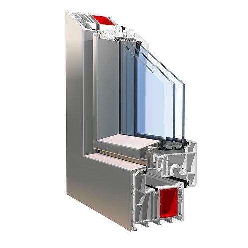 Окна и двери из ПВХ профиля KBE с низкоэмиссионными стеклами