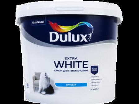 Краска Dulux Extra White матовая (база BW)