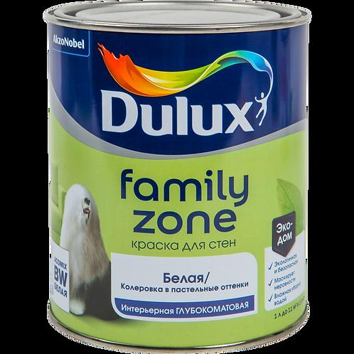 Краска Dulux Family Zone глубокоматовая (база BW)
