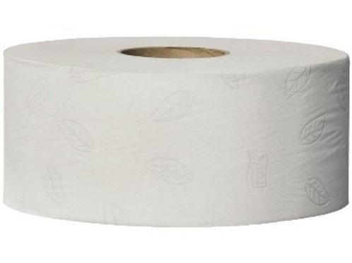 """Бумага туалетная Tork """"Advanced""""(T2) 2-слойная, мини-рулон, 170м/рул, тиснение"""