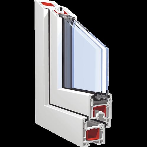 ПВХ-профили для оконных и дверных блоков марок «KBE»
