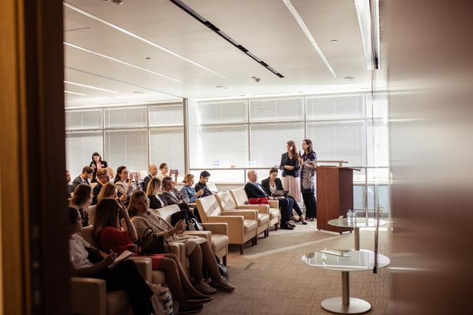 5 июля состоялся бизнес-завтрак с институтом WELL в офисе Cushman&Wakefield в здании O1 Properti