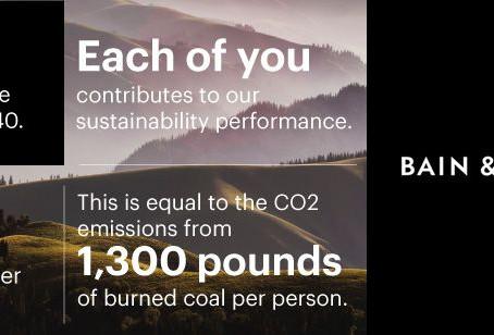 Bain & Company приближается к десятилетию углеродно-нейтрального бизнеса