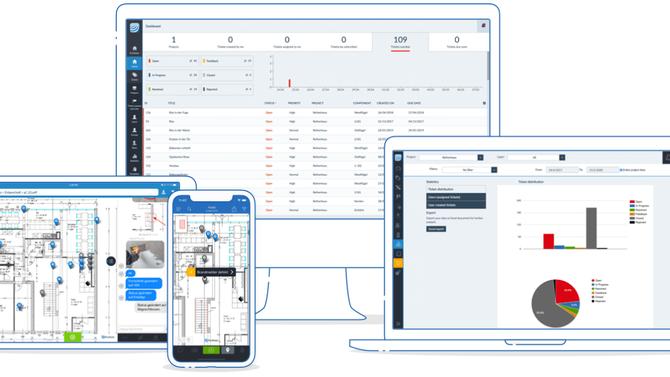 PlanRadar - цифровой документооборот и коммуникация в строительных проектах и проектах в сфере недви