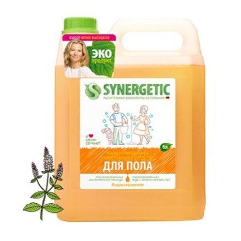 Средство для мытья полов Synergetic, канистра, 5л