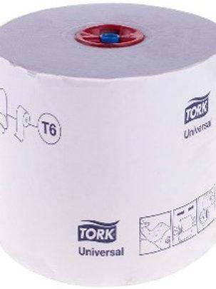 """Бумага туалетная Tork """"Universal""""(T6) 1 слойн., Mid-size рулон, 135м/рул, мягкая"""