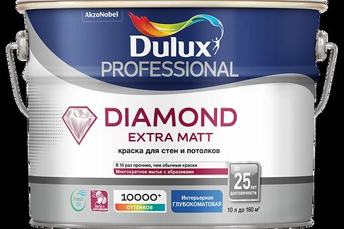 Краска Dulux Professional Diamond Extra Matt (базы BW, BC)