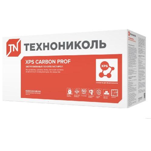 Экструзионный пенополистирол Технониколь XPS CARBON PROF