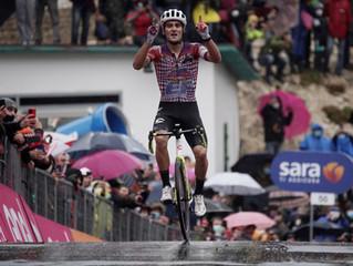 Portugal se apunta victoria y general al cierre de la primera semana del Giro