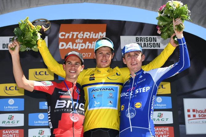 Batalla campal le dio a Dinamarca título histórico en Dauphiné