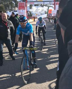 Valverde y Egan en meta