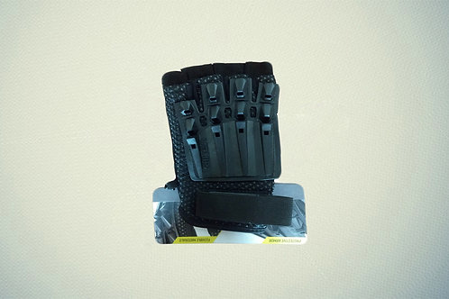 Gloves-Alpha Half Finger-Black-XS/S