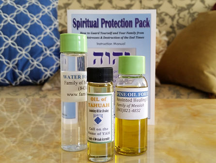 Spiritual Survival Anointed Healing Oil