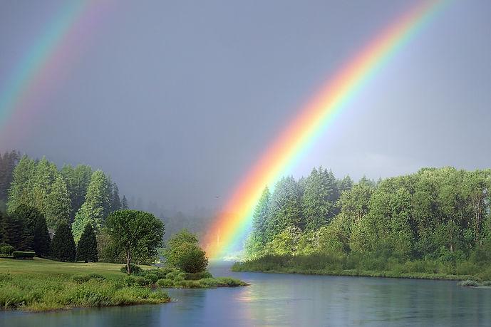 Seven Noahide Laws rainbow