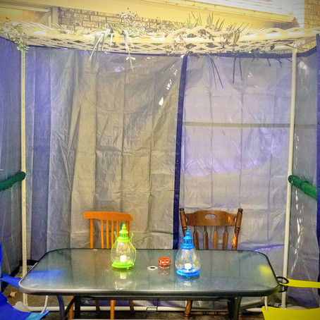 Finding Your Joy in the Sukkah