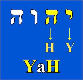 Yah in Hebrew