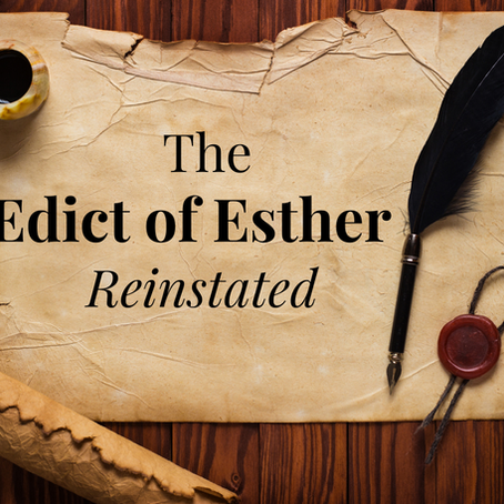 Victory for the Jews: The Edict of Esther Today