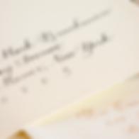 Calligraphy Envelopes