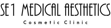 SE1 Medical Aesthetics TEXT LOGO 5 HR BL