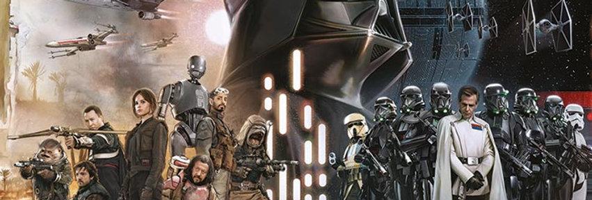 Poster plastifié Star Wars Rouge One REF:600