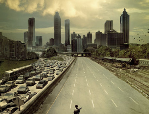 Grand poster THE WALKING DEAD City REF:553