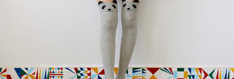 Bas Panda Gris