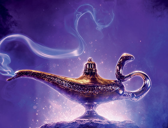 Poster plastifié 500 Aladdin Movie (Choose Wisley)