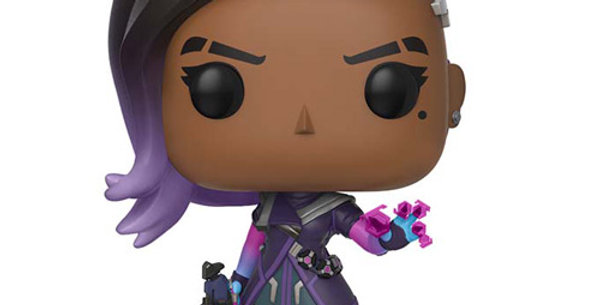 Figurine Funko POP Games Overwatch Sombra 307