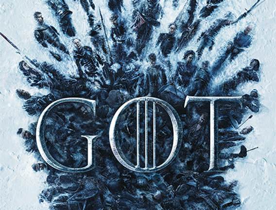Poster plastifié 771 Game of Thrones (Throne Of The Dead)
