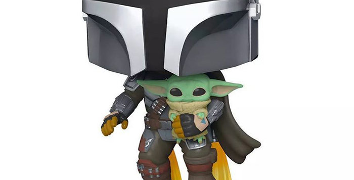 Funko POP Star Wars #402 The Mandalorian with the child