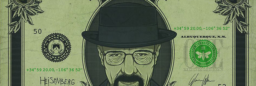 Breaking Bad (Heisenberg Dollar) 708